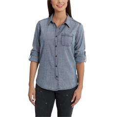 Carhartt Women's Dodson Chambray Long Sleeve Shirt