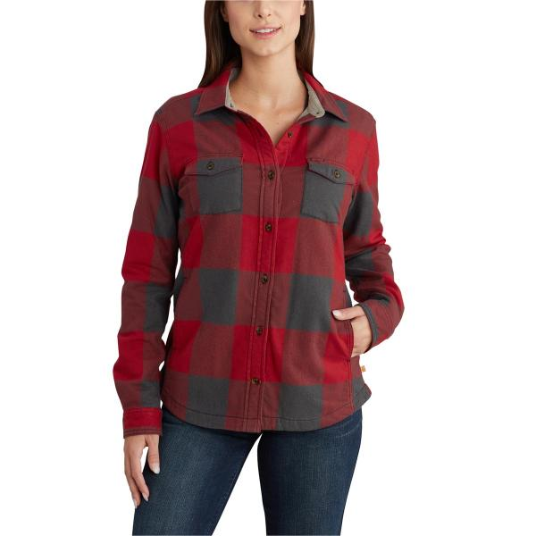 Carhartt Women's Rugged Flex Hamilton Fleece Lined Shirt
