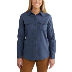 Carhartt Women's Rugged Flex Hamilton Solid Shirt