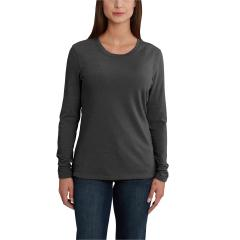 Carhartt Women's Lockhart Long Sleeve Crewneck T-Shirt