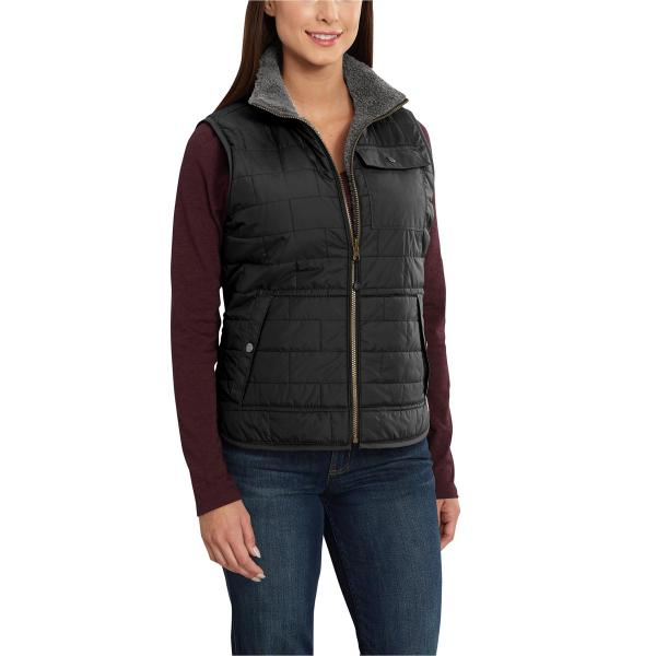 Carhartt Women's Amoret Sherpa Lined Vest - Discontinued Pricing