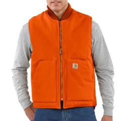 Carhartt Men's Duck Vest - Arctic-Quilt Lined - Discontinued Pricing
