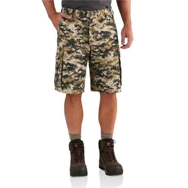 Carhartt Men's Force Tappan Cargo Short - 11 Inch Inseam - Discontinued Pricing