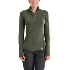 Women's Force Ferndale Quarter Zip Shirt - Past Season