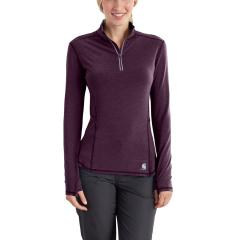 Carhartt Women's Force Ferndale Quarter Zip Shirt - Discontinued Pricing
