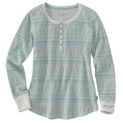 Women's Meadow Printed Henley - Discontinued Pricing