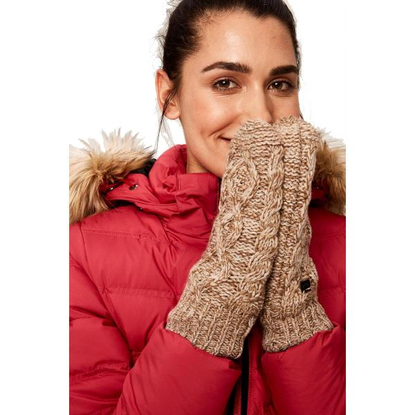 Lole Women's Cable Knit Mittens