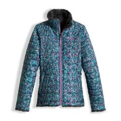 The North Face Girls' Reversible Mossbud Swirl Jacket - Past Season