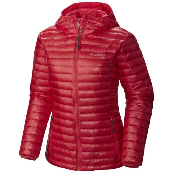 Columbia Women's Platinum Plus 740 TurboDown Hooded Jacket - Discontinued Pricing