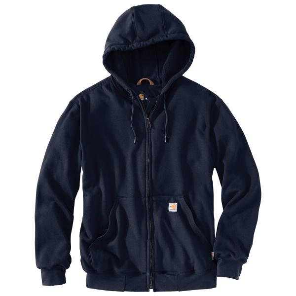 Carhartt Men's Flame Resistant Heavyweight Hooded Zip Front Sweatshirt