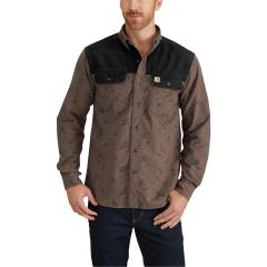 Men's Rugged Outdoors Burleson Printed Long-Sleeve Shirt