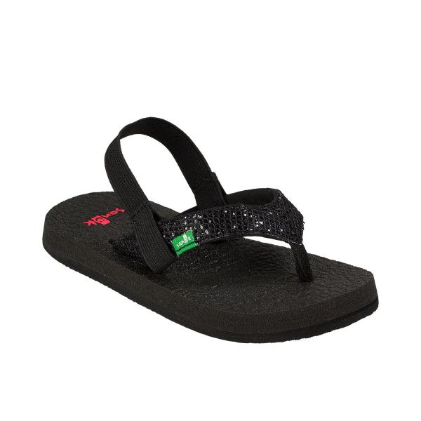 Sanuk Girls' Yoga Glitter