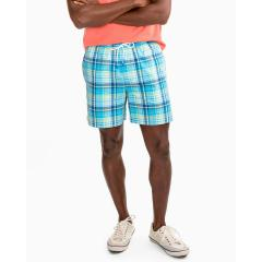 Men's Seacrest Plaid Swim Trunk