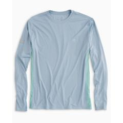 Southern Tide Men's Grey Tarpon Performance Tee