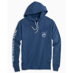 Southern Tide Men's Diamond Logo Hoodie Tee