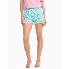 Southern Tide Women's Gingham Lounge Short