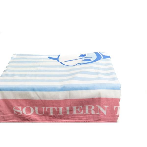 Southern Tide Striped Skipjack Beach Towel