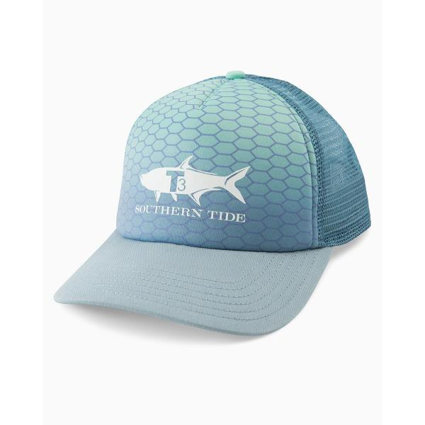 ec44a62d0eb41 Southern Tide Men s Grey Tarpon Foam Trucker Hat