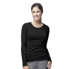 Carhartt Women's Long Sleeve Burnout Jersey Tee