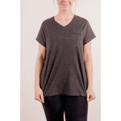 Women's Pocket Vee Neck