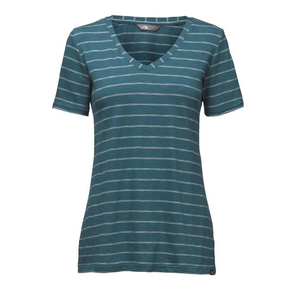 The North Face Women's Short Sleeve Sand Scape V-Neck Tee