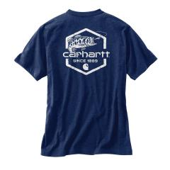 Carhartt Men's Maddock Graphic Fishing 1889 Short Sleeve T-Shirt