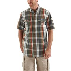 Men's Force Ridgefield Plaid Short Sleeve Shirt