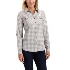 Carhartt Women's Force Ridgefield Plaid Shirt
