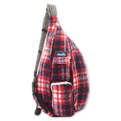 Women's Plaid Rope Bag