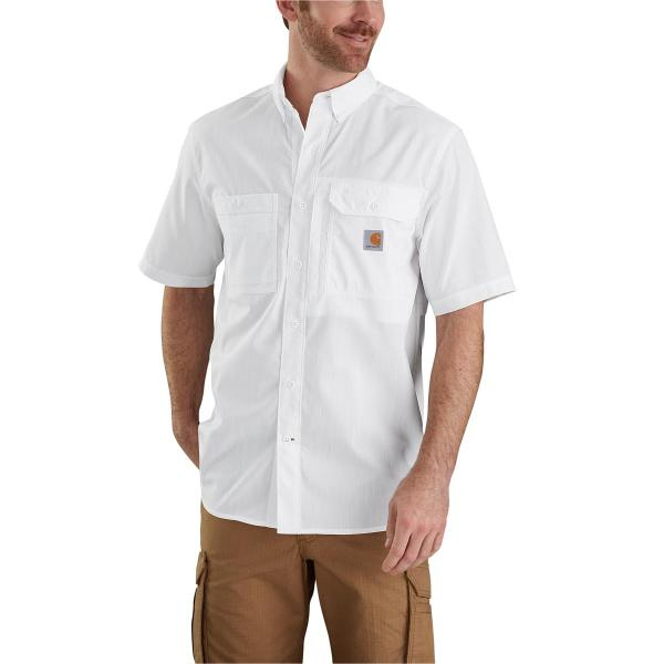 Carhartt Men's Force Ridgefield Solid Short Sleeve Shirt - Past Season