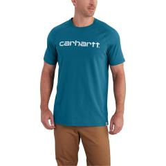 Carhartt Men's Force Cotton Delmont Graphic Short Sleeve T-Shirt - Past Season