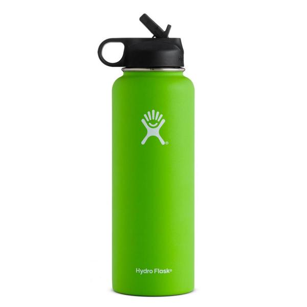 Hydro Flask 40 Ounce Wide Mouth with Straw Lid