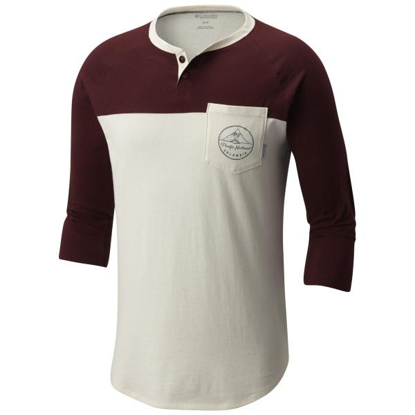 Columbia Men's CSC 503 Graphic Henley