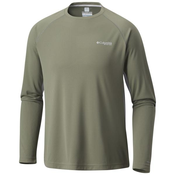 Columbia Men's Cast Away ZERO II Knit Long Sleeve Shirt - Extended Sizes