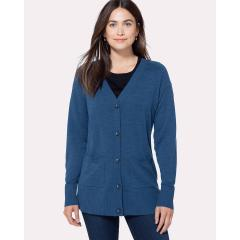 Women's Lightweight Merino Cardigan