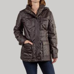 Pendleton Women's Waxed Cotton Zip Front Jacket