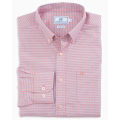 Southern Tide Men's Camana Bay Gingham Sportshirt