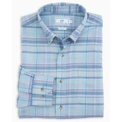 Men's Flamenco Beach Plaid Sportshirt
