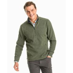 Southern Tide Men's Samson Peak Sweater Fleece Quarter Zip