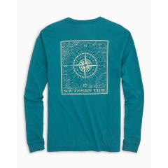Southern Tide Men's Southern Compass Tee