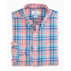Men's Marsh Cove Plaid Sportshirt
