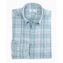 Southern Tide Men's Marsh Cove Plaid Sportshirt