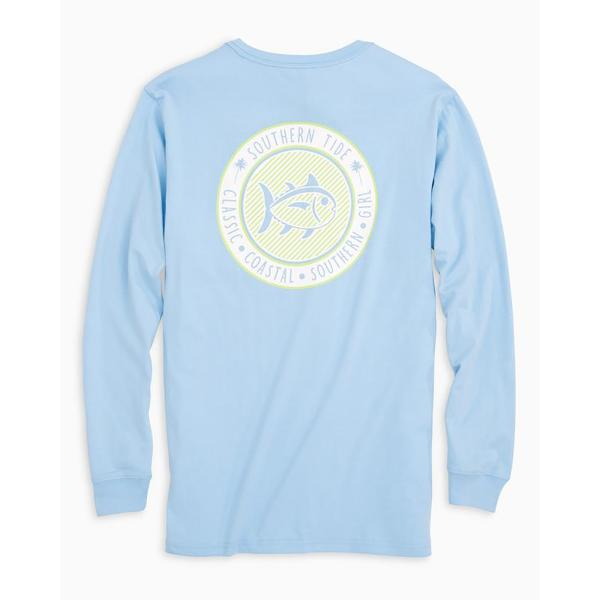 Southern Tide Women's Seersucker Graphic Tee