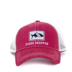 Fish Hippie Men's Gameday Trucker Crimson Cap