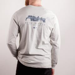 Fish Hippie Men's Southern Transportation Long Sleeve Tee