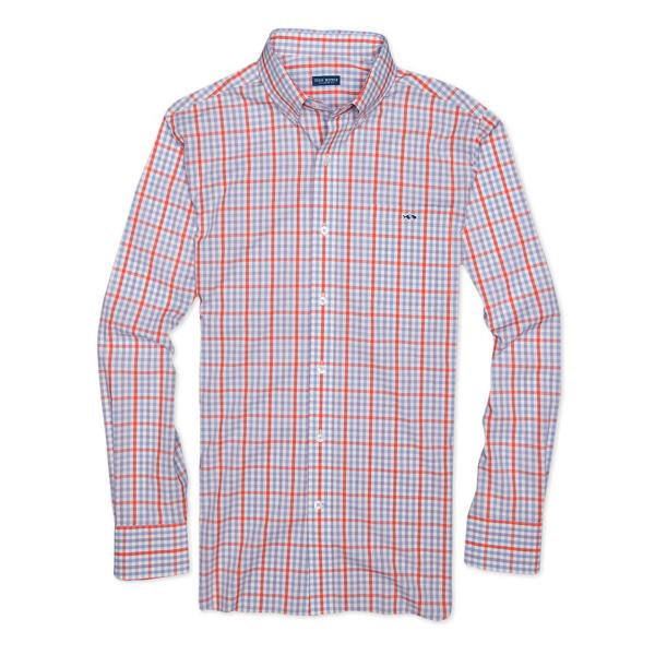Fish Hippie Men's Crawford Tattersall Shirt
