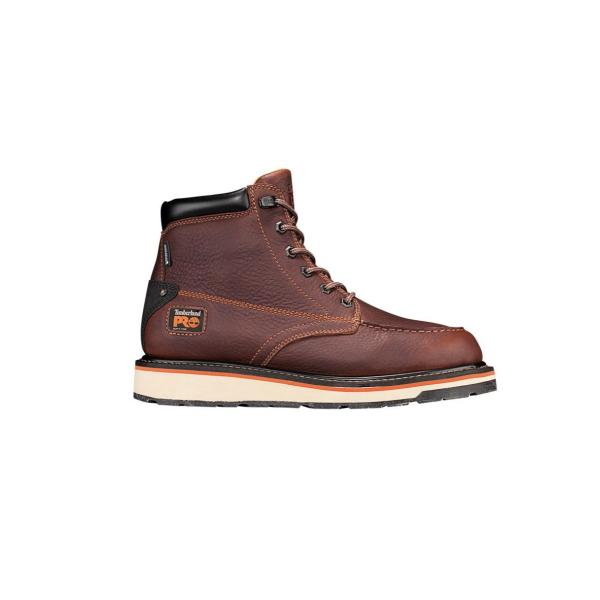 Timberland Men's Gridworks 6 Inch Moc Soft Toe Waterproof