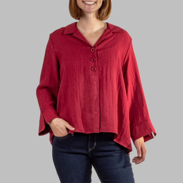 Habitat Women's Triple Pleat Back Shirt