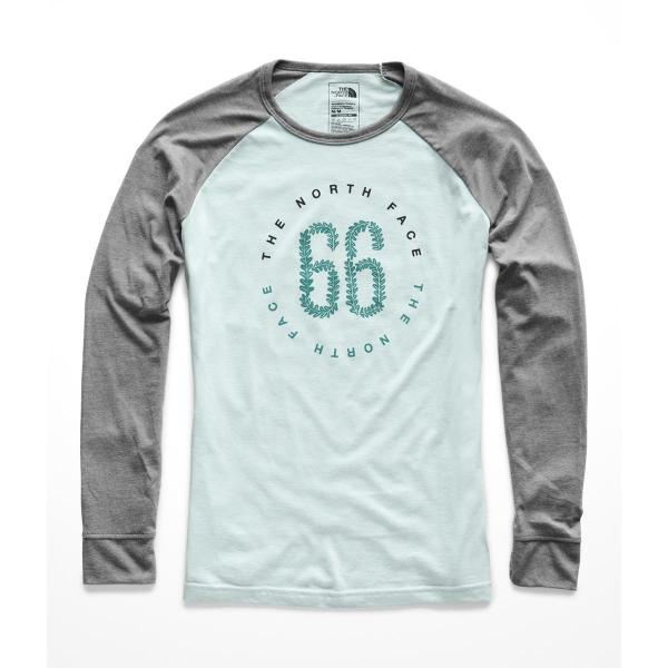 The North Face Women's Long Sleeve Malibae Tri-Blend Tee