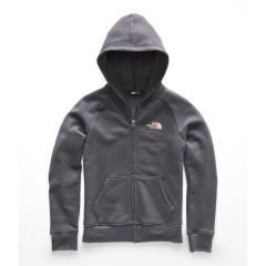 The North Face Girls' Logowear Full Zip Hoodie - Past Season